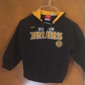 NHL Boston Bruins Kids Zippered Hoodie